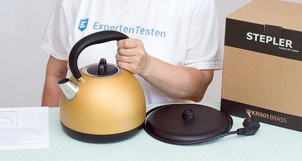 STEPLER Retro-Design Wasserkocher im Test - designed in Germany