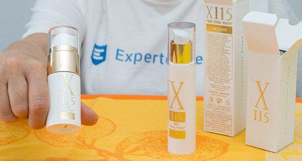 X115 Anti Aging Creme für Frauen im Test - Antioxidantien für den Anti Aging Effekt