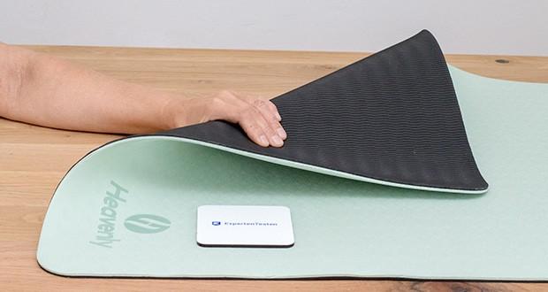 Heavenly Yogamatte Gymnastikmatte im Test - sehr langlebig und strapazierfähig
