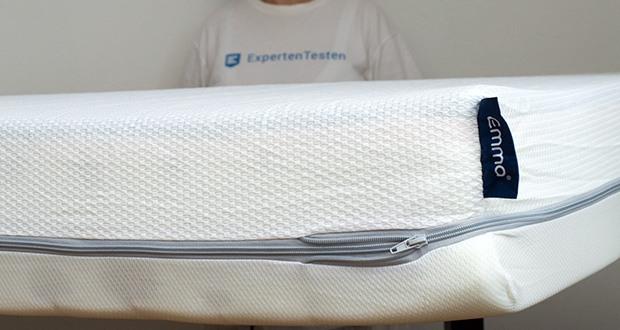 Emma One Matratze 140x200 im Test - besonders atmungsaktive Materialien