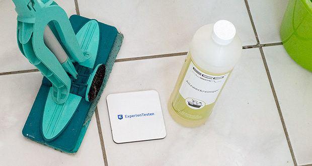 ECO-Clean by LcM Allzweckreiniger 1000 ml im Test - je nach Verunreinigungen und Oberflächenbeschaffencheit kann mit Wasser in einem Verhältnis von 1:10 bis 1:500 eingesetzt werden