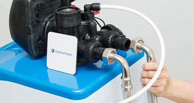 LFS CLEANTEC Wasserenthärter IWKC 1000 im Test - Kapazität bei 10°dH: 4000 Liter; Kapazität bei 20°dH: 2000 Liter