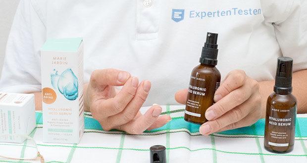 Anti Aging Hyaluronic Acid Serum von MARIE JARDIN im Test