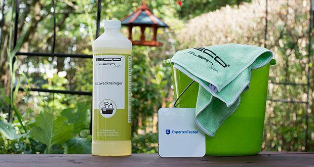 ECO-Clean by LcM Allzweckreiniger 1000 ml im Test - kann auch in einem Hochdruckreiniger mit einer Konzentration 3-5 % angewendet werden