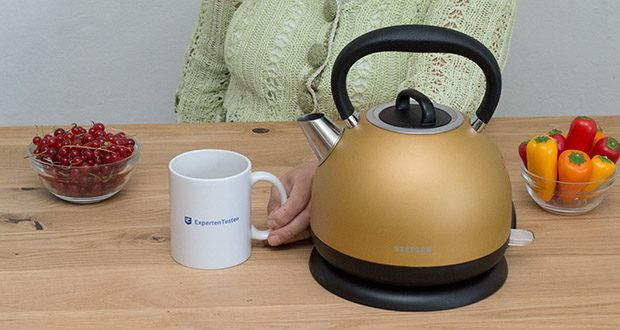 STEPLER Retro-Design Wasserkocher im Test - Retro-Design, als sei man in Omas Küche, verbinden wir mit bester Technologie