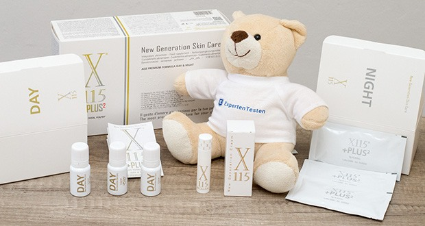 X115+Plus Skin Care Set im Test - mit nährender, biostimulativer und regenerierender Wirkung