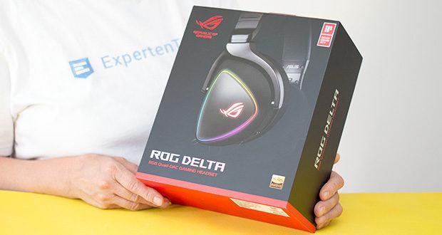 ASUS ROG Delta Gaming Headset im Test - hochauflösender ESS ES9218 SABRE Quad-DAC