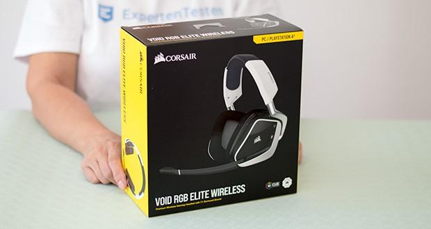 Corsair Void Elite RGB Gaming Headset im Test - herausragender Sound