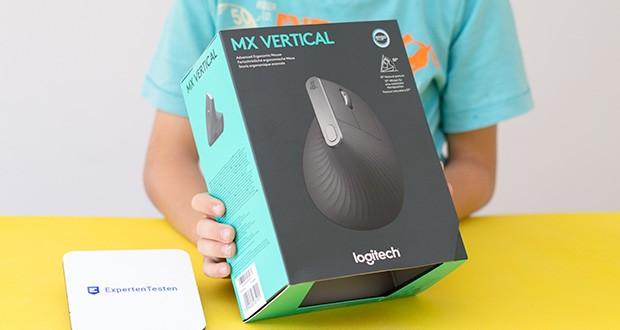 Logitech MX Vertical Bluetooth Maus im Test - von Anwendern getestet, von Ergonomen empfohlen