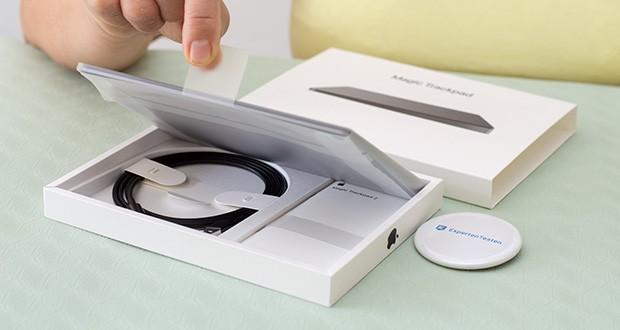 Apple Magic Trackpad 2 im Test - Gewicht: 231 g, Farbe: Space Grey