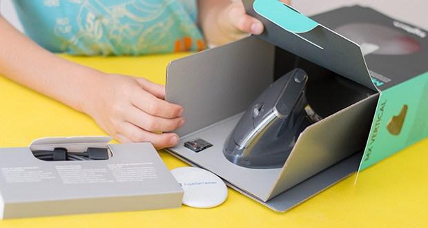 Logitech MX Vertical Bluetooth Maus im Test - Reduzierung der Muskelbeanspruchung