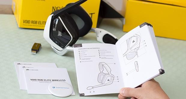 Corsair Void Elite RGB Gaming Headset im Test - überträgt Ihre Stimme mit außergewöhnlicher Klarheit und verfügt außerdem über eine Stummschaltfunktion und eine LED-Stummschaltungsanzeige
