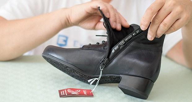 Gabor Damen Comfort Basic Stiefeletten im Test - Verschluss: Reißverschluss