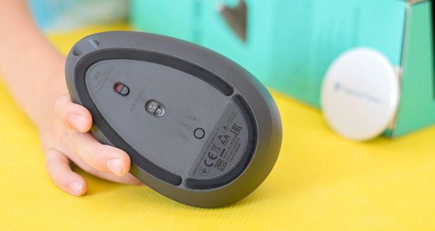 Logitech MX Vertical Bluetooth Maus im Test - Easy-Switch und Flow-fähig