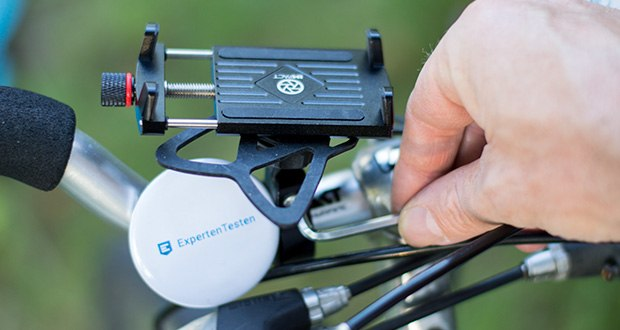 Pro Mount 360 Fahrrad Handyhalterung im Test - passend für die gängigsten Fahrrad & Motorradlenker mit dem Durchmesser: 32mm | 25.4mm | 22mm