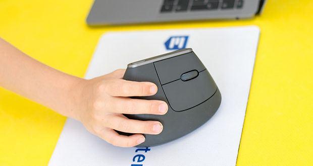 Logitech MX Vertical Bluetooth Maus im Test - hat mit einer vollen Aufladung für bis zu vier Monate lang Energie
