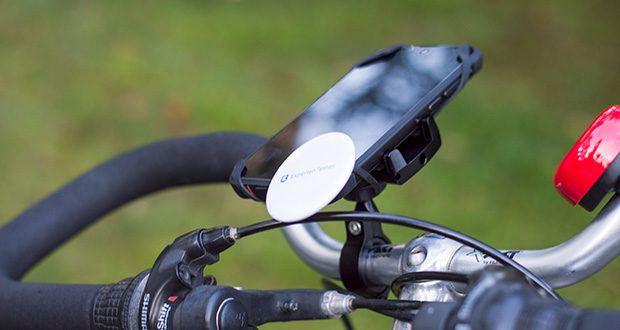 Pro Mount 360 Fahrrad Handyhalterung im Test - extrem stabile Fahrrad & Motorrad Handyhalterung aus Metall