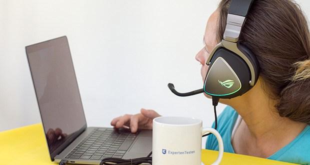 ASUS ROG Delta Gaming Headset im Test - branchenweit führender, hochauflösender ESS-Quad-DAC für einen unglaublich detaillierten und lebensechten Klang