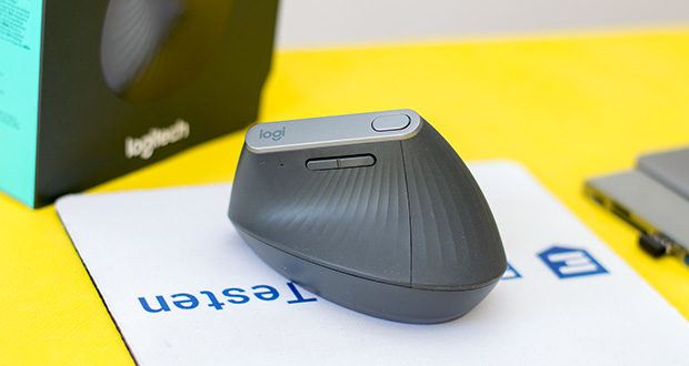 Logitech MX Vertical Bluetooth Maus im Test - Verbesserung der Körperhaltung, Verringerung des Drucks auf das Handgelenk