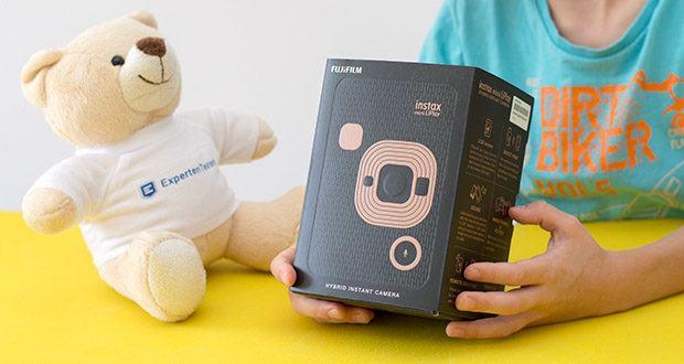 Fujifilm Instax Mini LiPlay Elegant Hybride Sofortbildkamera im Test - klein und leistungsstark