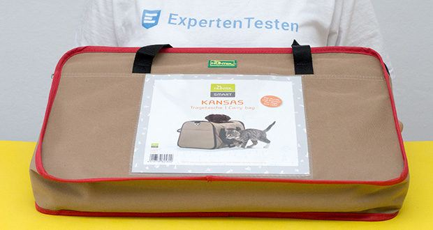HUNTER KANSAS Tragetasche für Hunde und Katzen im Test - Größe: 50 x 30 x 30 cm