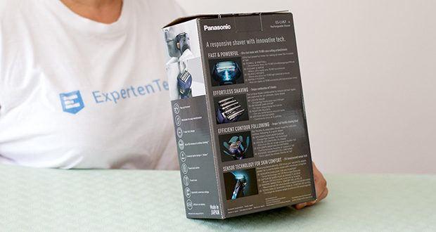 Panasonic ES-LV67-A803 Nass/Trocken-Rasierer im Test - Japanese Blade Tech und der extrem scharfe Schliffwinkel von nur 30 machen die Herrenrasierer von Panasonic zu den schärfsten Elektrorasierern