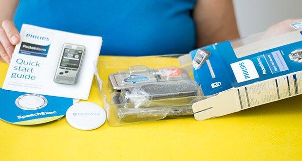 Philips DPM6000 Digitales Diktiergerät im Test - inkl. Diktiersoftware SpeechExec 10