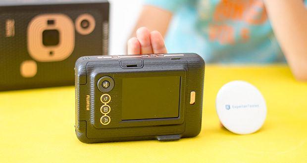 Fujifilm Instax Mini LiPlay Elegant Hybride Sofortbildkamera im Test - mit Selbstauslösefunktion