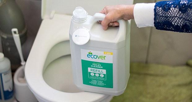 Ecover Ökologischer WC-Reiniger Tannenduft im Test - PH-Wert zwischen 2,8 und 3,4
