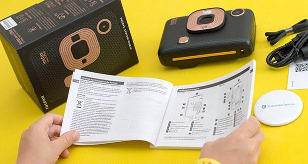 Fujifilm Instax Mini LiPlay Elegant Hybride Sofortbildkamera im Test - Praktisch: Einmal mit Ihrem Smartphone verbunden, können Sie dieses auch als Fernauslöser für die instax mini LiPlay verwenden und mit der App auf Ihrem Handy den Bildausschnitt in Echtzeit beobachten