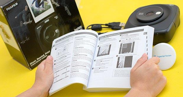 Fujifilm instax SQUARE SQ 20 Hybride Sofortbildkamera im Test - Frame Grab-Modus zur Selektion des besten Motion-Motivs zur Ausgabe als Sofortbild