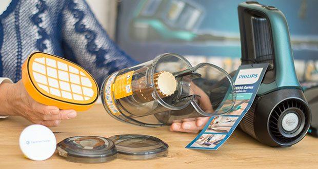 Philips XC8147/01 SpeedPro Max Aqua Staubsauger mit Wischfunktion im Test - entfernen Sie bis zu 99 Prozent aller Baktieren in einem Zug mit dem Saug- und Wischsystem