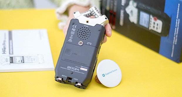 Zoom H4nPro Digital Multitrack Recorder im Test - Produktabmessungen : 15.88 x 3.81 x 6.99 cm; Gewicht: 299,37 g
