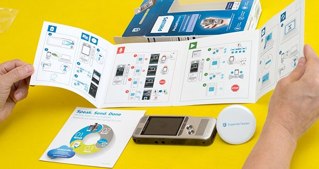 Philips DPM6000 Digitales Diktiergerät im Test - die kristallklaren Aufnahmen eignen sich perfekt, wenn Sie dieses Diktiergerät mit Spracherkennung einsetzen möchten