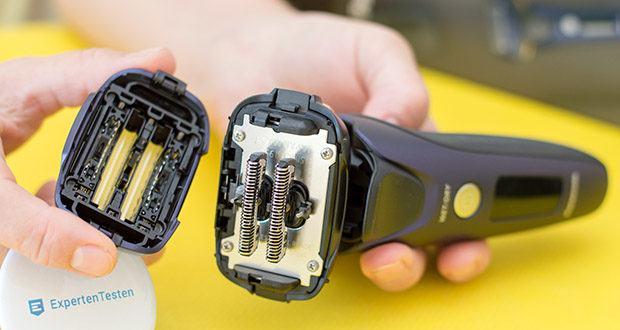 Panasonic ES-LV67-A803 Nass/Trocken-Rasierer im Test - nanopolierte 30°Klingen für eine unwiderstehlich glatte, präzise Rasur