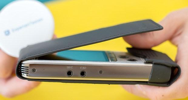 Philips DPM6000 Digitales Diktiergerät im Test - per Drucktasten steuern Sie sämtliche Aufnahme- und Wiedergabefunktionen sowie die Bearbeitung des Diktates (Einfügen, Überschreiben, Anhängen)