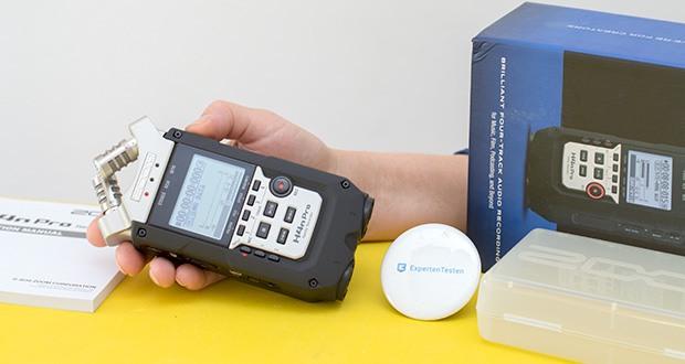 Zoom H4nPro Digital Multitrack Recorder im Test - variable Wiedergabegeschwindigkeit von 50% bis 150% mit Tonhöhenkorrektur