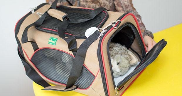 HUNTER KANSAS Tragetasche für Hunde und Katzen im Test - praktische Tragetasche für Hunde und Katzen