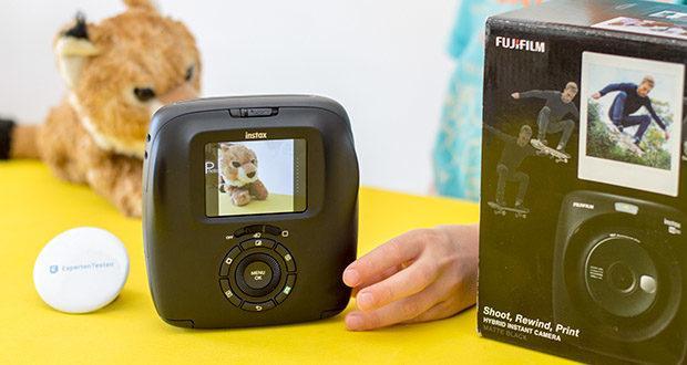 Fujifilm instax SQUARE SQ 20 Hybride Sofortbildkamera im Test - Hybride Sofortbildkamera mit internem Speicher für 50 Aufnahmen