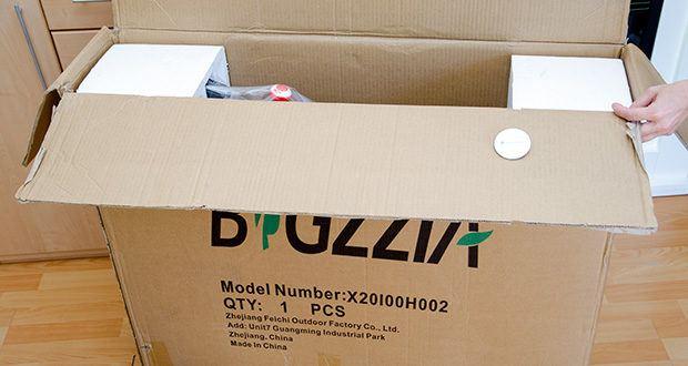 Bigzzia Profi-Heimtrainer mit LCD-Anzeige im Test - Gewicht: 24 kg