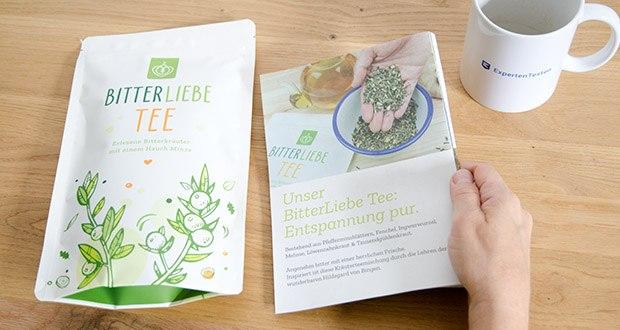 BitterLiebe Tee im Test – 100% natürliche Inhaltsstoffe