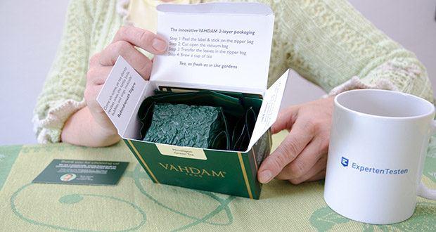 VAHDAM Grüne Teeblätter aus dem Himalaya im Test - ethischer, direkter und Messehandel