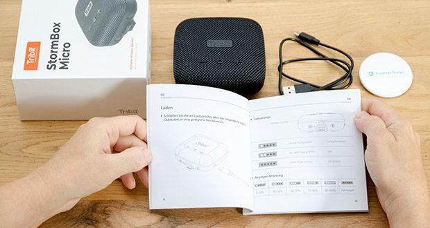 Tribit Stormbox Micro Bluetooth Lautsprecher im Test - überragende Reichweite von 30 Metern