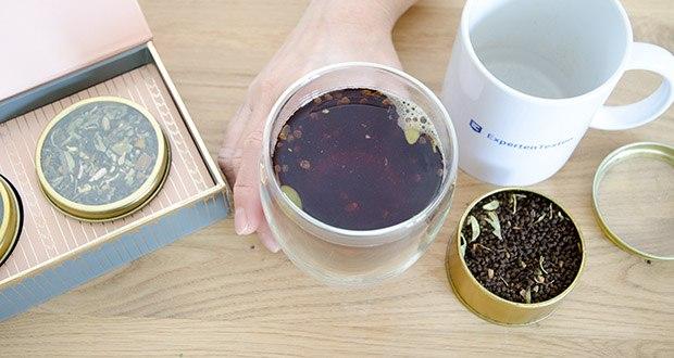 VAHDAM Sortiertes 3 Tee-Geschenkset im Test - trinken Sie eine herrliche Tasse Tee und genießen Sie den einzigartigen Geschmack, der aus den frischesten Gartenteeblättern gewonnen wird