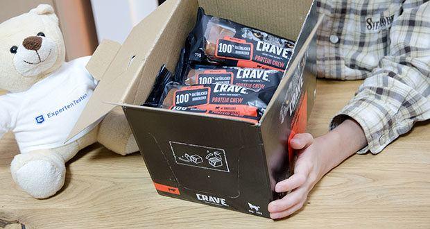CRAVE Protein Chew für mittelgroße Hunde mit Rind im Test - Lieferumfang: 15 x 75 g CRAVE Protein Chew mit Rind