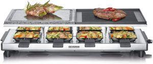 Auf einem Naturstein können Sie nahezu fettfrei Fleisch, Fisch und Gemüse zubereiten.