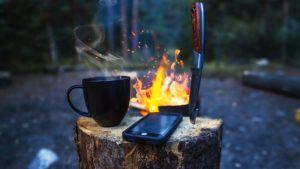 Auch ein Smartphone kann als Outdoor Handy fungieren.