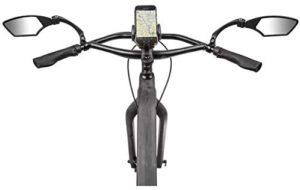 Ein Fahrradspiegel sorgt für mehr Sicherheit im Straßenverkehr und macht auf potenzielle Gefahren aufmerksam.