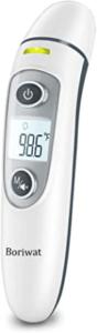 Ein großer Bildschirm erleichtert das Ablesen der Temperatur.