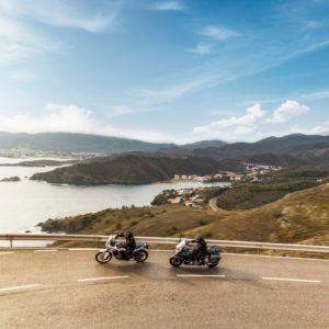 Viele Motorrad Navigationsgeräte bieten abenteuerliche Routen an.